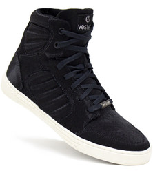 Black International Jump Hi-Top Sneaker