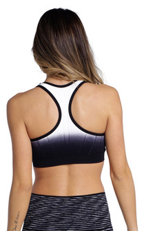 Climawear Black White Beyond the Horizon Bra