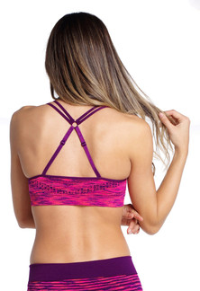 Climawear Rosa Litho Print Know Your Angles Bra