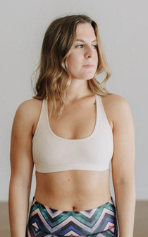 Jiva Nude Power Fit Bra 50% Off