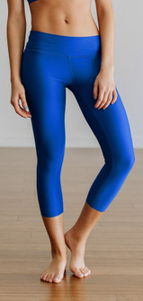 Jiva Tonic Blue Flex Capri