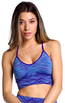 Climawear Blue Breakthrough Bra