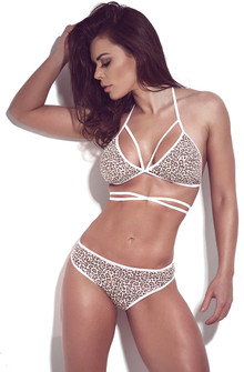 SUPERHOT Jaguar Print Underwear Set