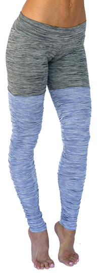 Mia Brazilia Blue-Grey Thigh High Legging