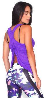 Protokolo Purple Spencer Tank