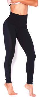 Protokolo Kelli High Waist Black Legging
