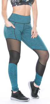 TLF Paradise Jade Heather Margoux Legging