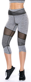 TLF Graphite Heather Bridgeitte Capri