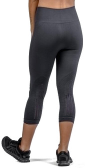 Climawear Black Set The Pace Nine Iron Capri