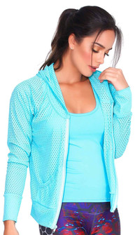 Protokolo Aqua Candy Crush Mesh Jacket
