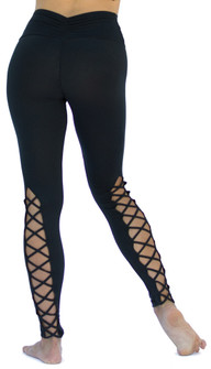Mia Brazilia Black Corset Legging