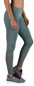 PATCH LEGGING SILVER PINE