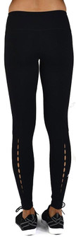 Glyder Black Peek-A-Boo Legging