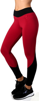 Equilibrium Burgundy Black Coast Legging