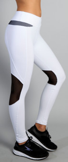 Equilibrium White As Winter Legging