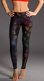 Onzie Stained Glass Print Legging