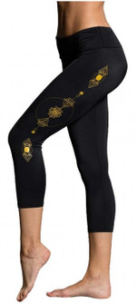 Onzie Black Bling Capri