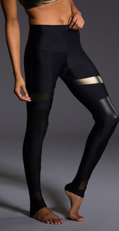 Onzie High Rise Black-Bronze Legging