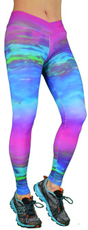 Shape Up Colorful Print Legging
