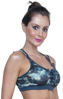 Lace Up Padded Bra Top By Bia Brazil