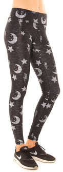 Terez To The Moon & Back Tall Band Leggings