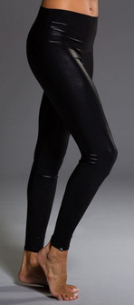 Polished Black High Rise Legging By Onzie