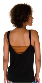 Open Black Knot Yoga Tank By Onzie