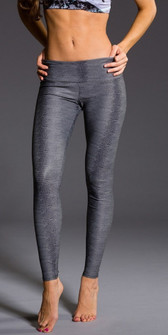 Charcoal Snake Legging By Onzie Yoga Wear