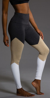 Onzie Tan Charcoal High Rise Legging