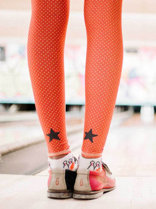 Teeki Red Polka Dot Cowgirl Legging