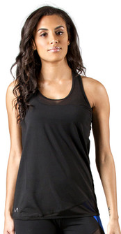 TLF Apparel Black Skew Tank