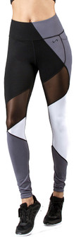 TLF Apparel Vertex Black-Grey-White Legging