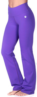 Protokolo Purple High Waist Flare Pant