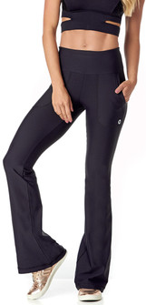 Vestem Black Pocket Fashion Pant