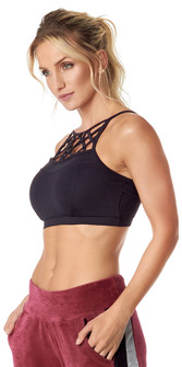 Vestem Black World Cup Bra Top