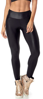 Vestem Shiny Black Payton Basic Legging