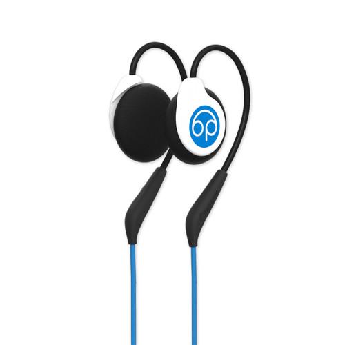 Bedphones (Gen. 2) headphones for sleeping - white/blue isometric view