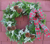 Frugal Yankee Wreath