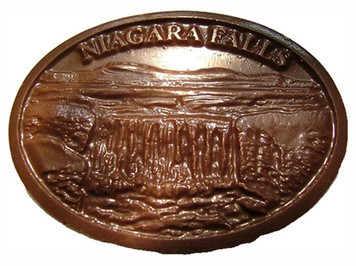 Niagara Falls Chocolate Medallion