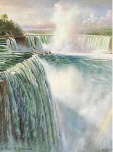 Paul Hanover Niagara Falls Print