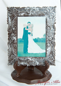 """Jeannie"" Chocolate Frame"