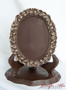 """Kay"" Chocolate Frame"