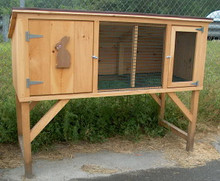 Rabbit Hutch - Large - doors closed