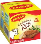 Maggi Beef Bouillon Cubes 20 ct.