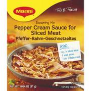 Maggi German Pfefferrahm Pepper Cream Sauce Mix 1.09 oz