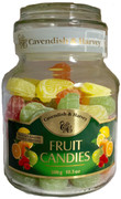 Cavendish and Harvey Fruit Candy Jars