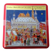 "Lambertz ""Christmas Market"" Premium Cookie and Gingerbread Tin"