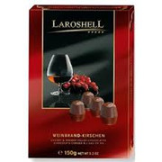 Halloren Laroshell Brandy & Cherry Chocolate beans