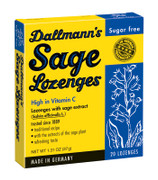 Dallmann's Sage Lozenges Sugar Free