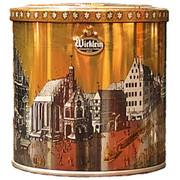Wicklein Lebkuchen in Gold Silver Tin min 14% nuts